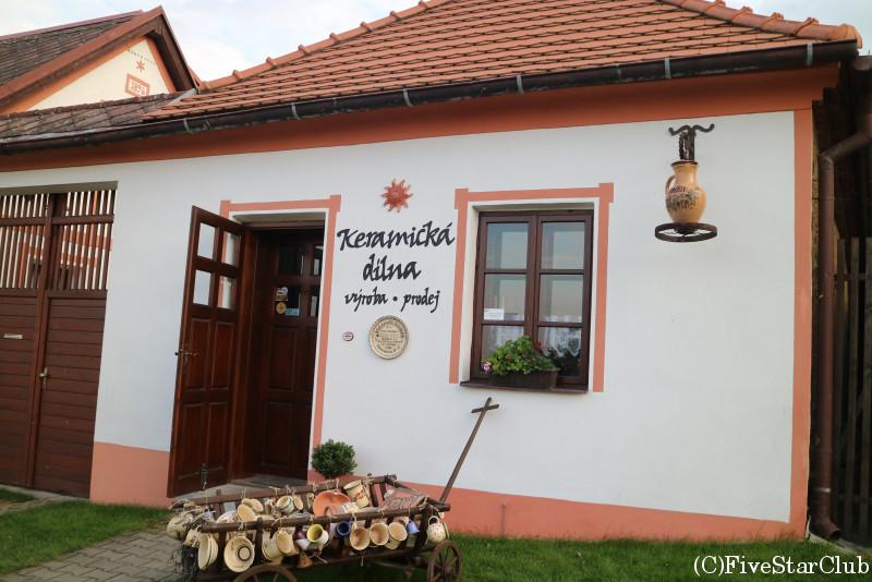 ホラショヴィツェの漆喰の家