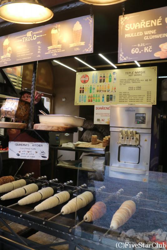 食べ歩きの定番「TROLO」の売店