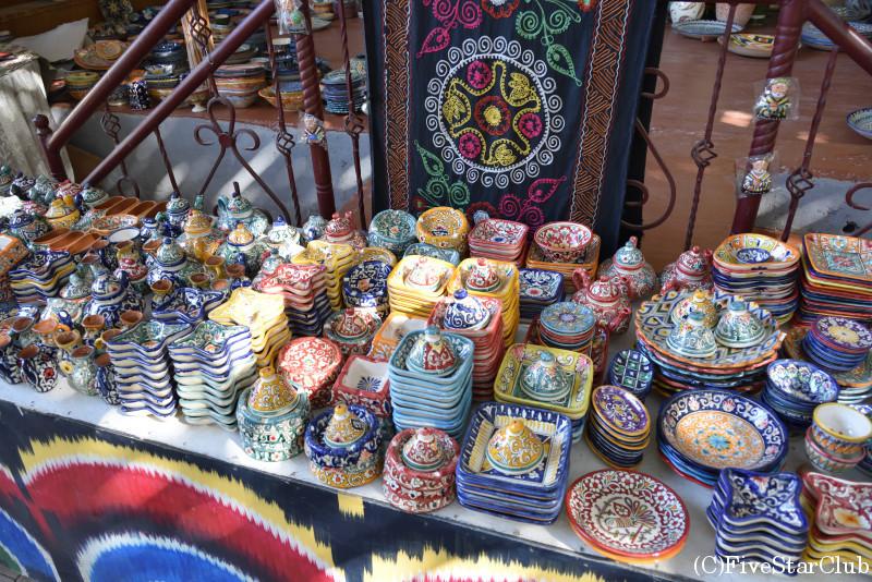 リシタンで有名な陶器工房
