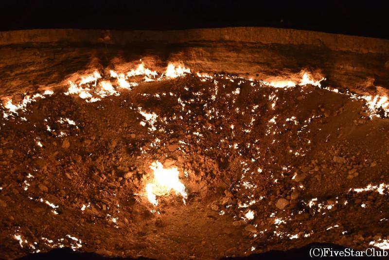 地獄の門 クレーター