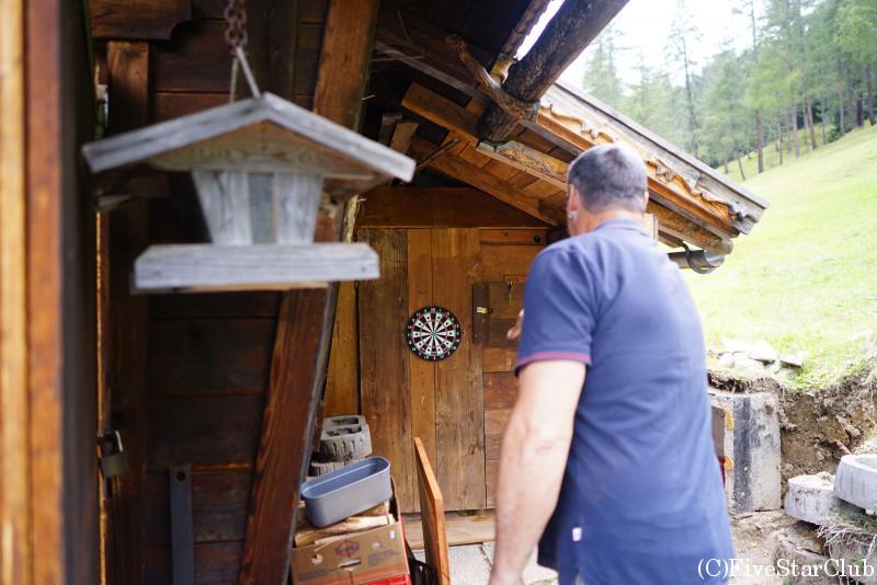 マーティン家の山小屋