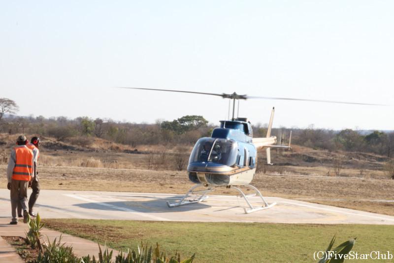 ビクトリアフォールズヘリコプターツアー