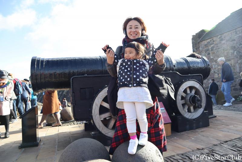 エジンバラ城 ハーフムーン砲台