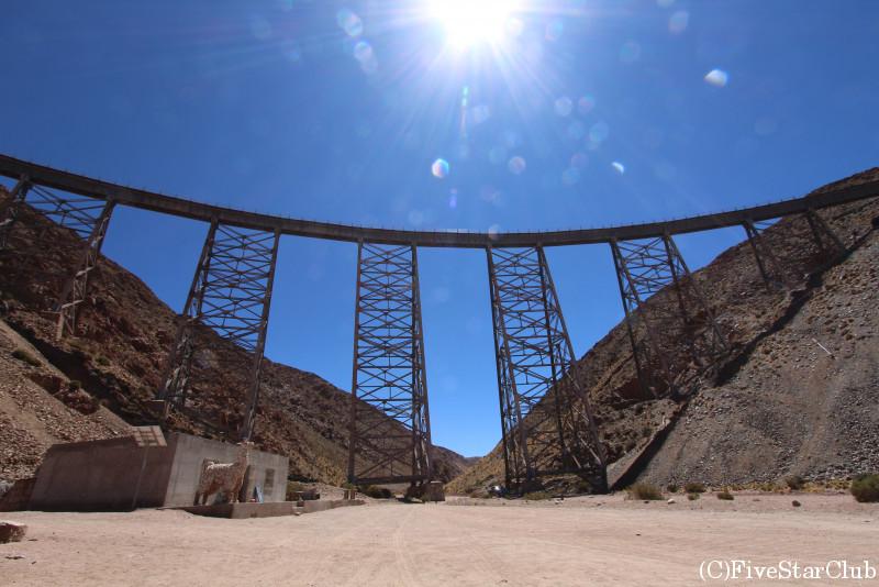 雲の列車の終点 ラ・ポルポリージャ鉄橋