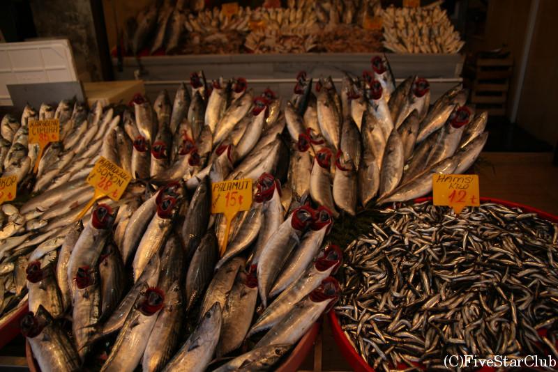 エジプシャンバザール 魚屋