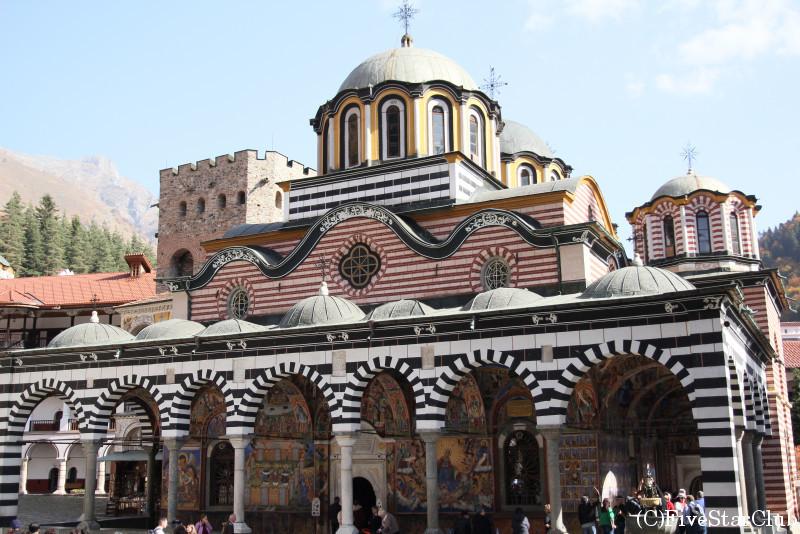 世界遺産 リラの僧院