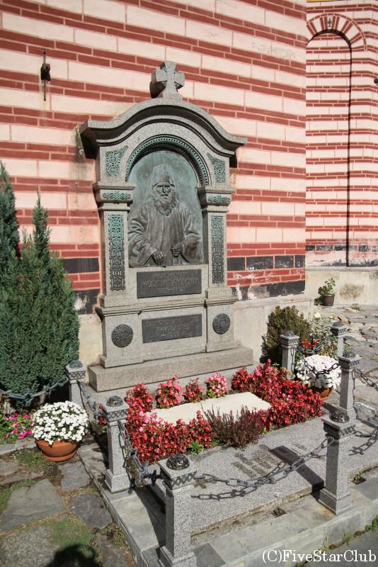 リラの僧院/ネオフィト・リルスキの墓