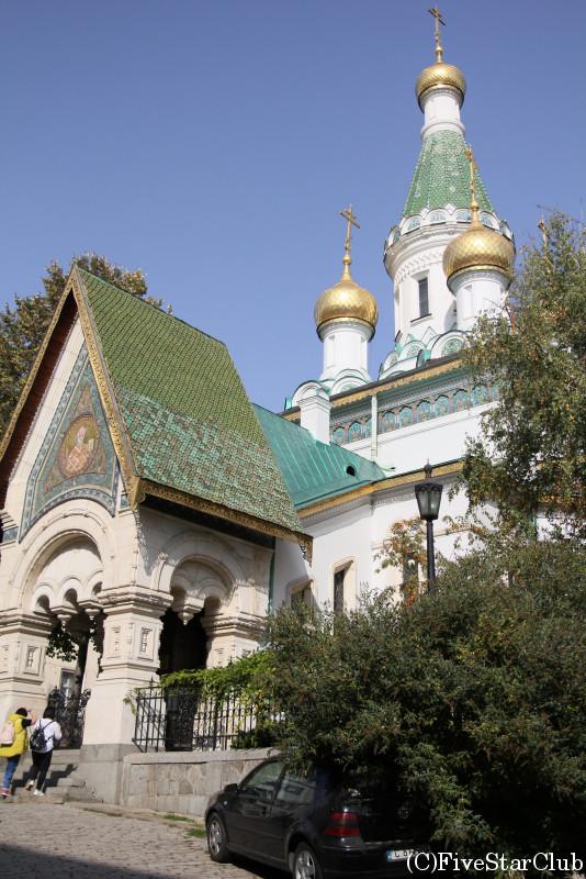 ロシア正教 聖ニコライ聖堂
