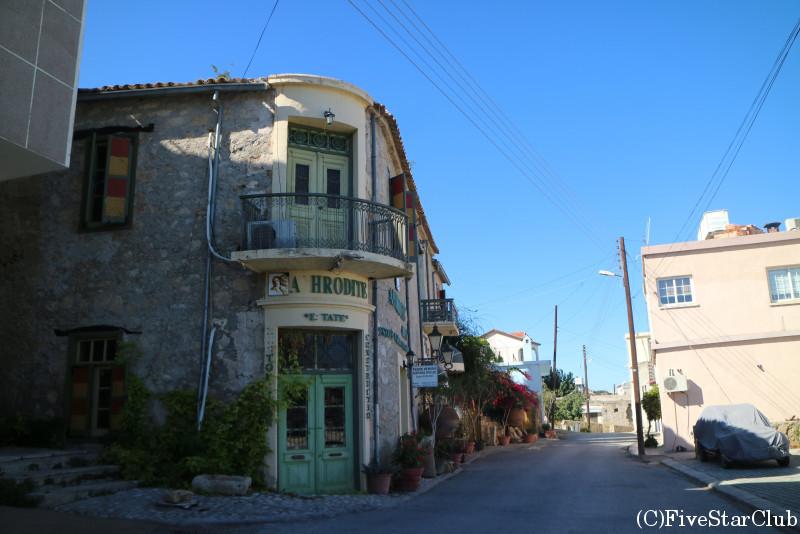 ラプタ村の街並み