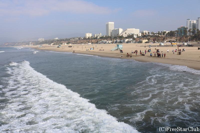 ロサンゼルス/サンタモニカビーチ