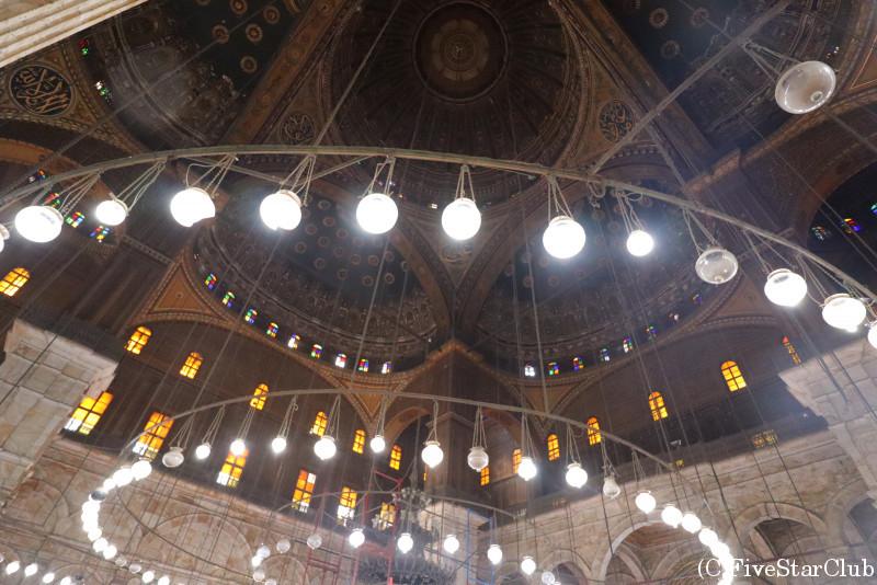 モハメド・アリ・モスク 内部