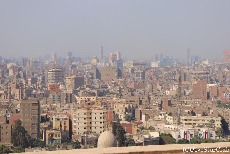 モハメド・アリ・モスクからの眺望