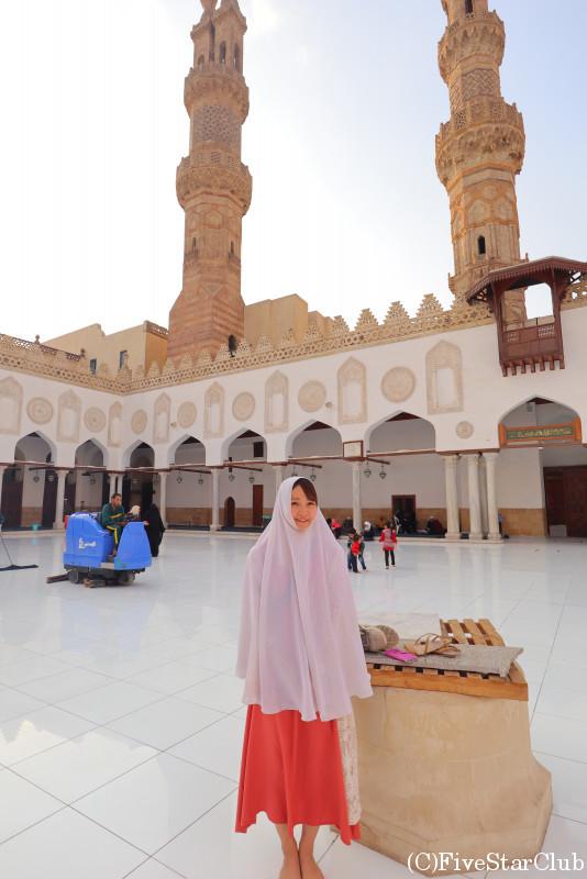 アズハル・モスクにて