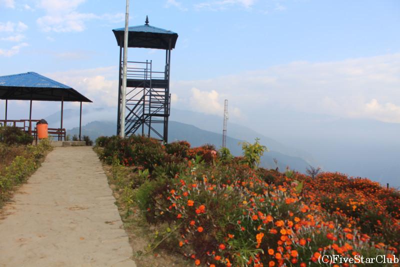 村の展望台