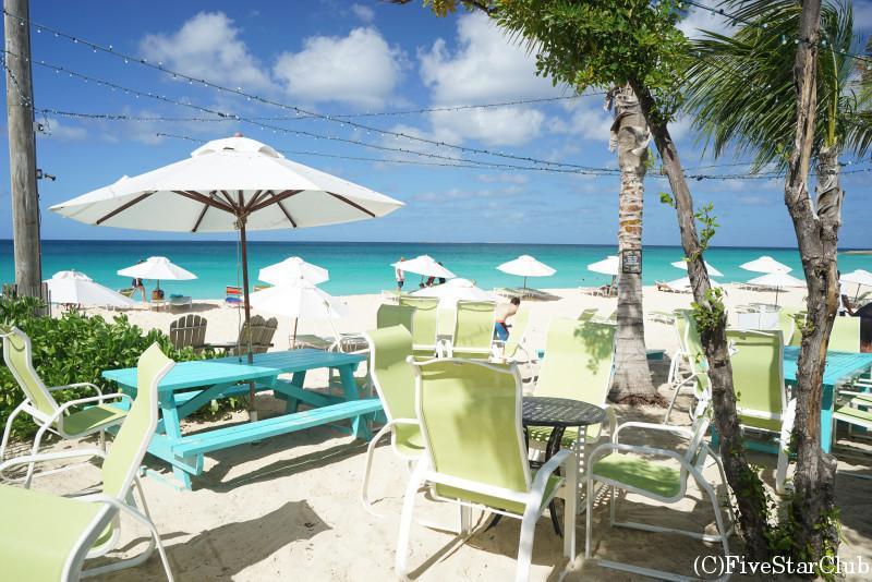 アンギラ島のおすすめレストラン Blanchards Beach Shack