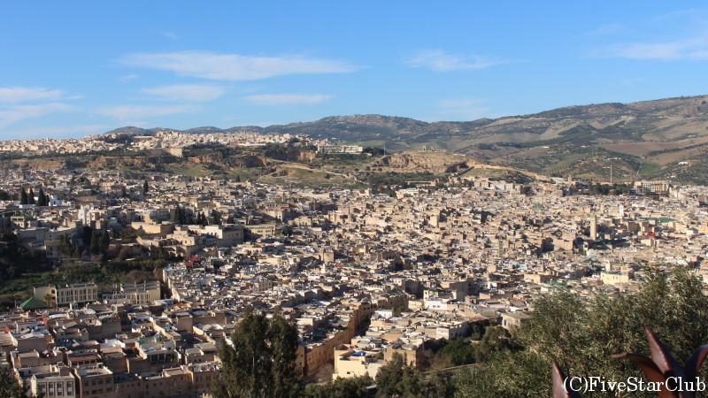 丘の上からの景色
