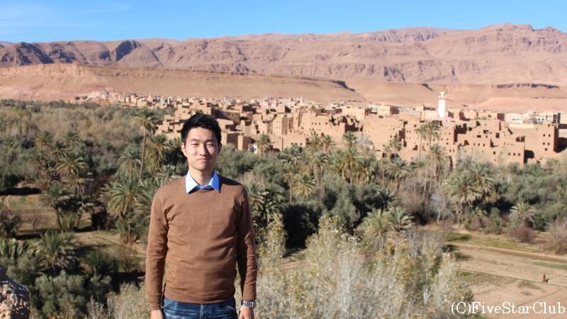 砂漠の中のオアシス