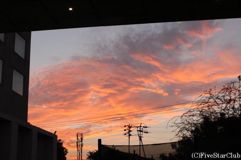 綺麗な夕空