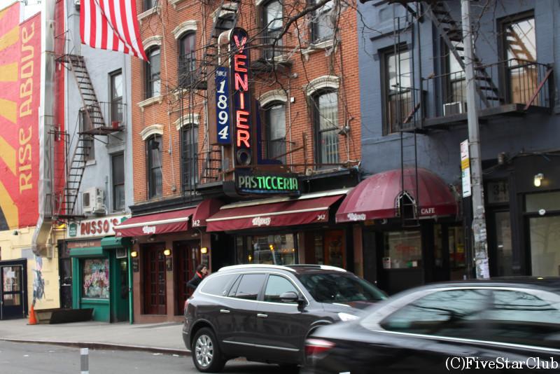NYチーズケーキの名店「VENIERO'S」