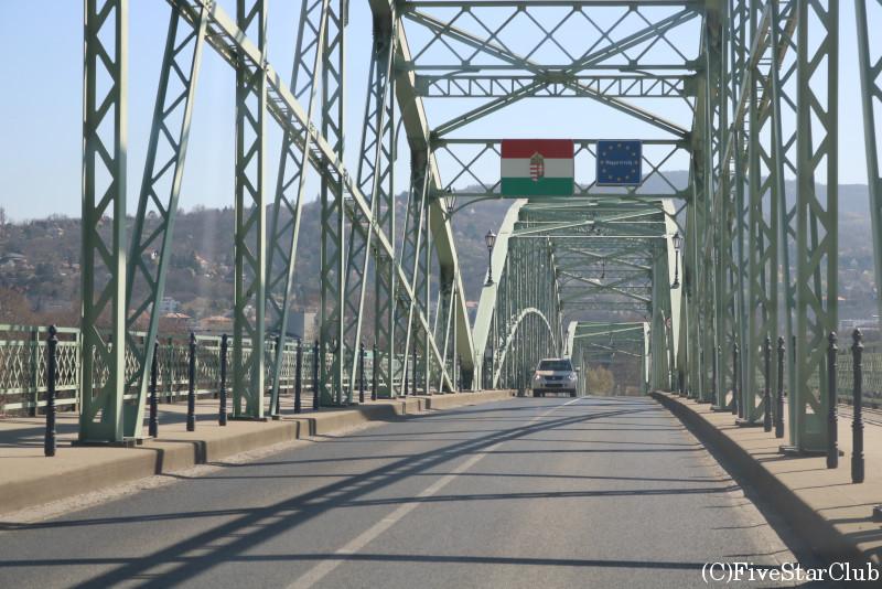 スロバキアとの国境の橋