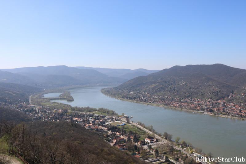 ヴィシュグラード要塞からみたドナウベント