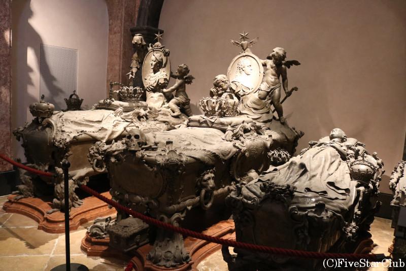 ハプスブルグ家の墓所 カプツィーナ教会