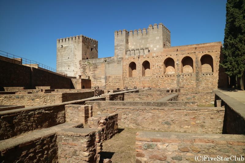 アルハンブラ宮殿 要塞アルカサバ