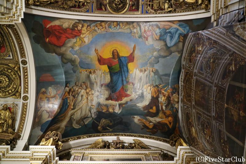 イサク聖堂/天井