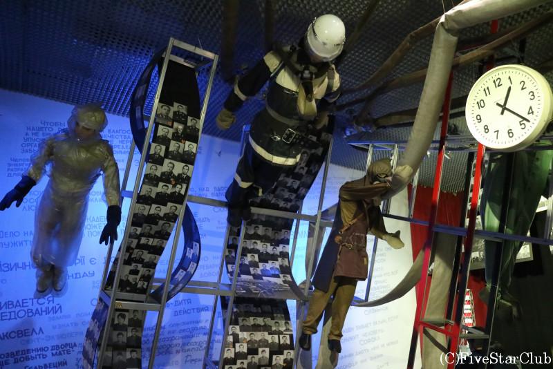 チェルノブイリ博物館/爆発時にとまった時間