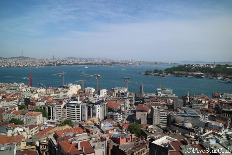 ガラタ塔から見た景色
