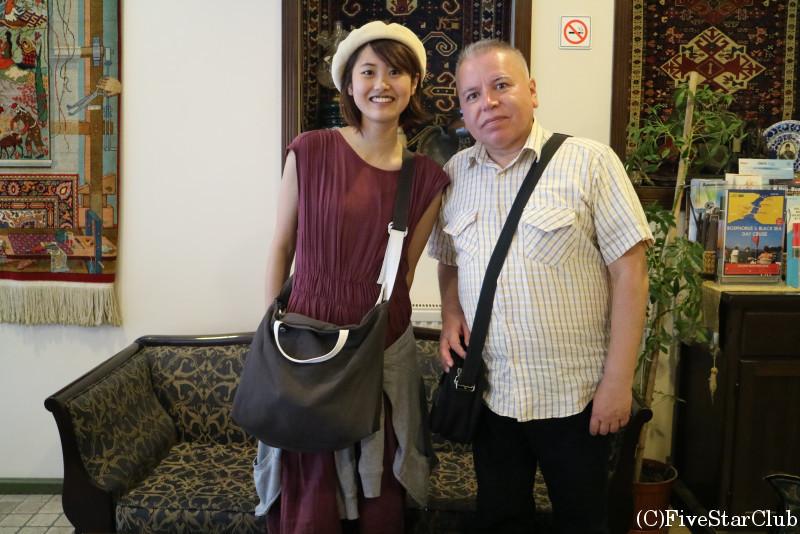 イスタンブールの日本語ガイドさんと