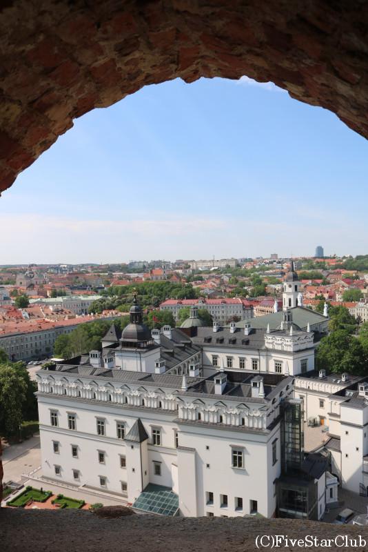 旧市街/ゲディミナス城からの眺め