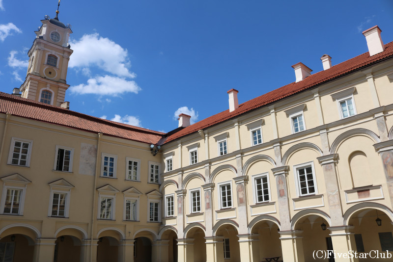 旧市街/ヴィリニュス大学