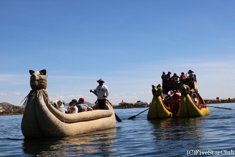 トトラ製の舟バルサ