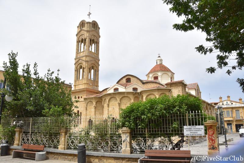 ニコシアの街並み ファネロメニ教会