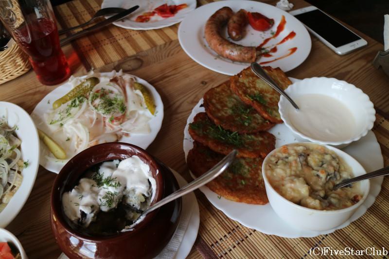 ベラルーシ料理