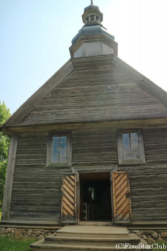民族建築と生活博物館 教会