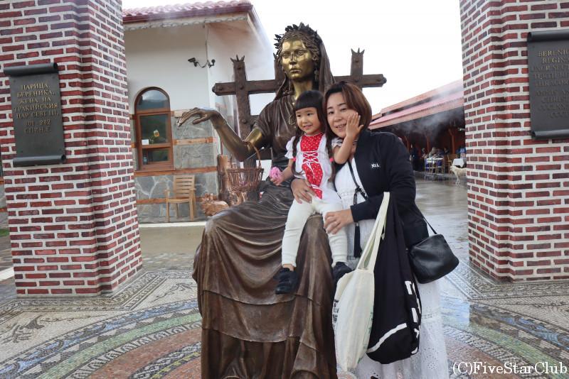 バラの女神と私たち