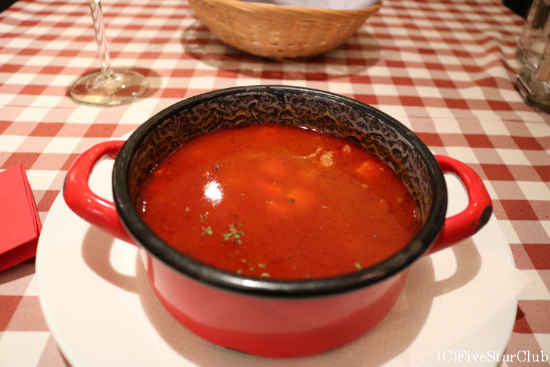 スープ:グヤーシュ