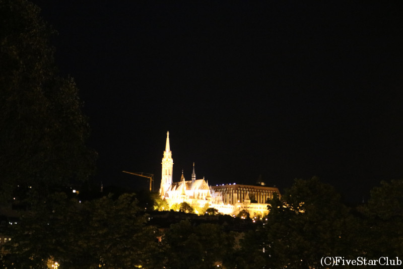 王宮の丘:夜景