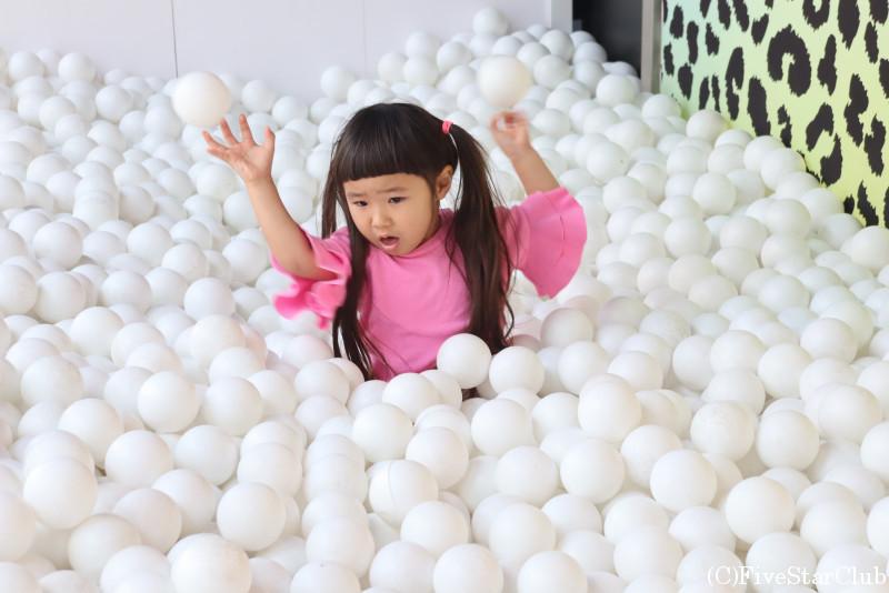 ハリウッド蝋人形館のボールプール