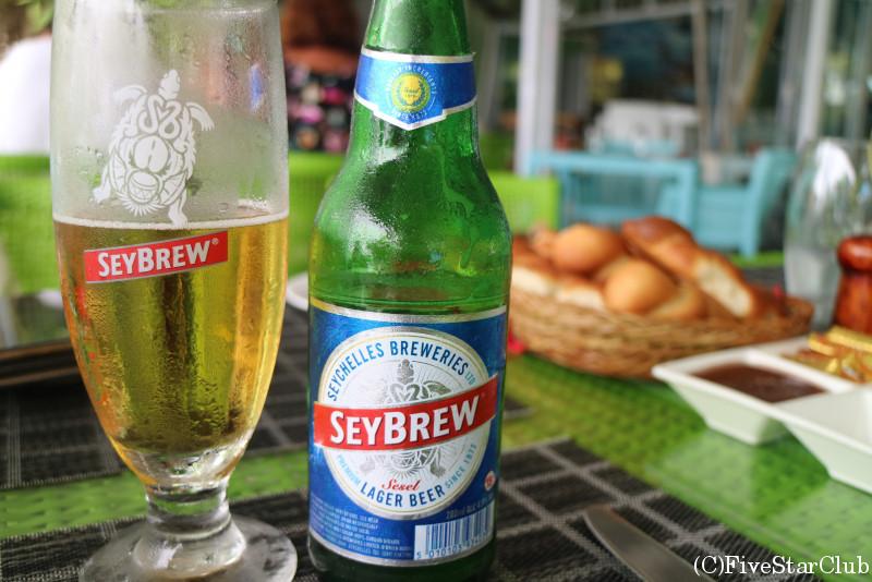 セイシェルのビール「SEY BREW」