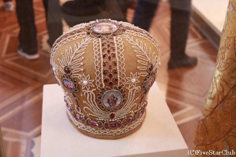 エルミタージュ美術館 礼拝堂の王冠