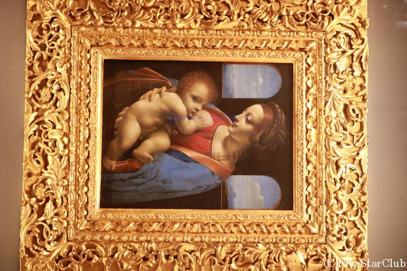 エルミタージュ美術館 レオナルド・ダ・ヴィンチ『リッタの聖母』