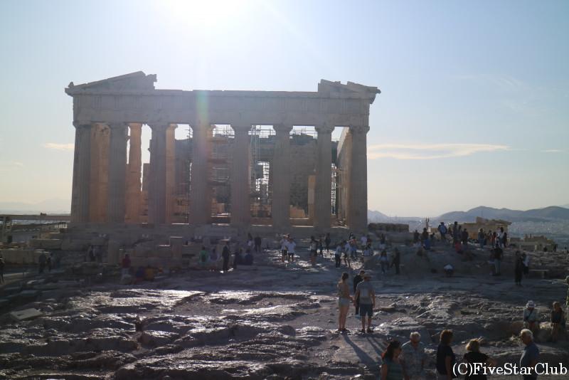 アクロポリス遺跡/パルテノン神殿