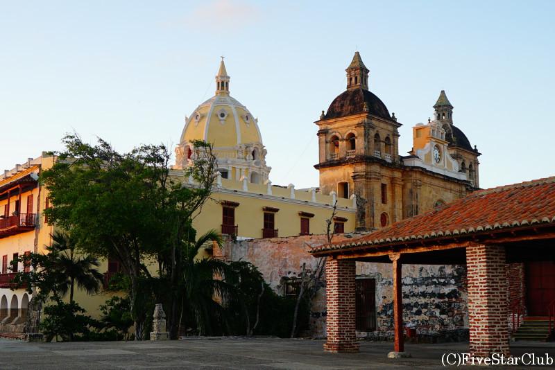 世界遺産の街並み カルタヘナ旧市街