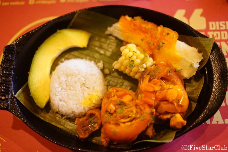 コロンビアの食についてのワークショップ
