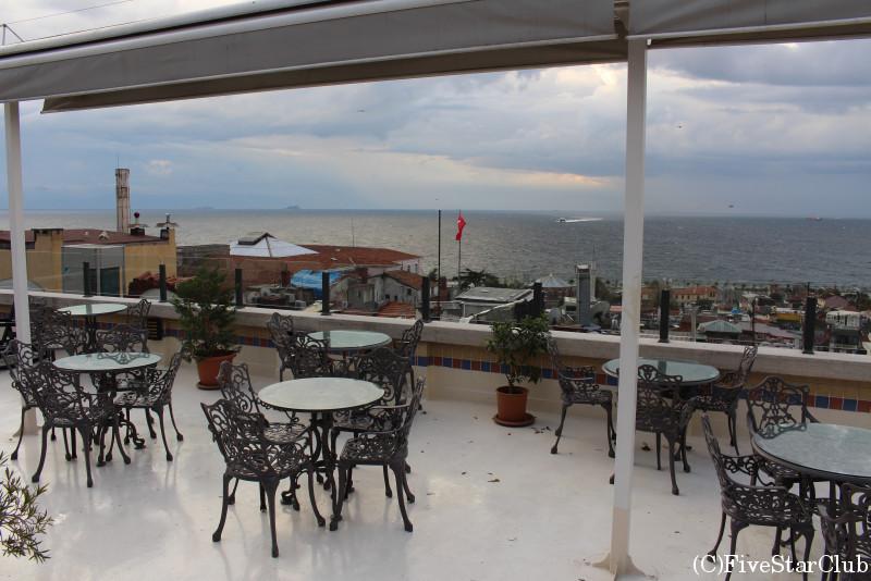 FEHMIBEY HOTEL レストランからの景色