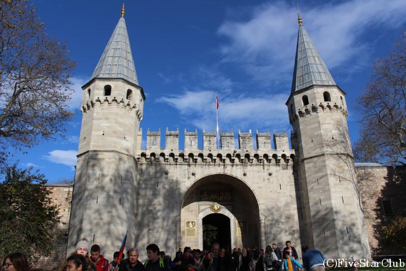トプカプ宮殿 送迎の門