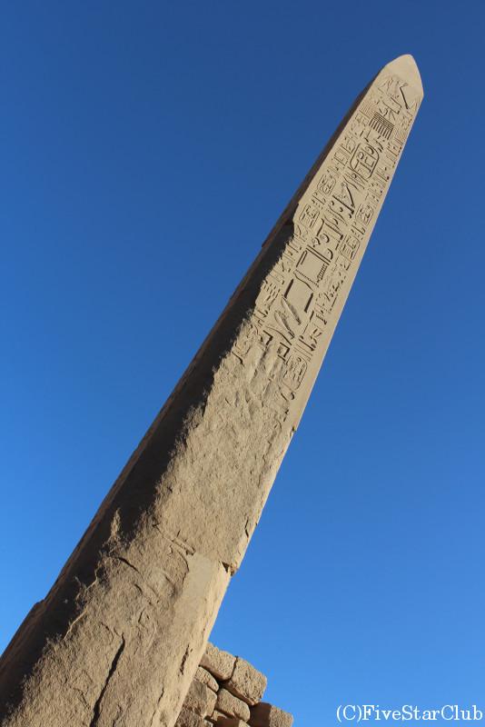 カルナック神殿 上下エジプトの柱